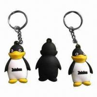 Wholesale 3D Plastic Keychains, Made of Eco-friendly Material, Available in Various Designs from china suppliers