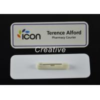 Wholesale 3D Epoxy Domed Coated Personalised Name Badges For Nurses / Kids from china suppliers