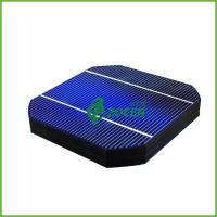 Wholesale High Performance Photovoltaic P Type Monocrystalline Solar Cells With 2 Busbar from china suppliers