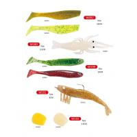 Quality Plastic high quality  fishing soft lures  Worm for sale