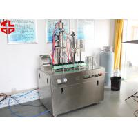 Buy cheap Easy Operating Bag On Valve Spray Can Filling Machines For Evian Spray / Avene Spray / Water Spray from wholesalers