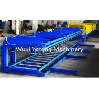 Wholesale 8 - 15m / Min Speed Trapezoidal Roof Panel Roll Forming Machine GI / Al Material from china suppliers