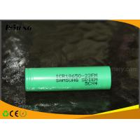 Wholesale Samsung ICR18650 22FM battery Green 2200mAh rechargeable 18650 lithium ion batteries from china suppliers