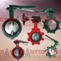 Buy cheap BETTER Long Neck Butterfly Valves MUDKING DEMCO NE-C Type Butterfly Valve Ductile Iron Cast Iron Body NBR Seat from wholesalers