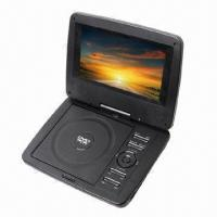 Wholesale 7-inch Portable DVD Player with Built-in Stereo Speakers from china suppliers