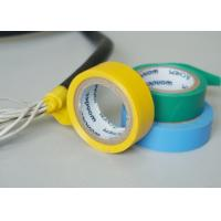 Wholesale Vinyl Electrical Insulating Heat Resistant Tape , Blue PVC Masking Tape from china suppliers