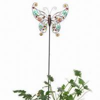 Wholesale Butterfly Metal Craft, Flexible with High Hardness, Available in Various Designs and Sizes from china suppliers