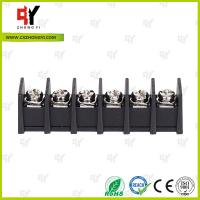 Wholesale 7.62mm Barrier Style Terminal Blocks with Wire Range 22AWG - 12 AWG from china suppliers