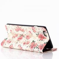"Wholesale Flower Pattern Book Flip Leather Case With Credit Card Slot For Iphone 6 Plus(5.5"") from china suppliers"