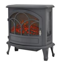 Wholesale 3 Sided Freestanding Electric Fireplace  SF-25 real burning log LED flame living room heater from china suppliers