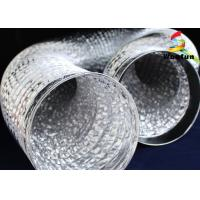 Wholesale 18'' Round Range Hood Flexible Duct , Silver Kitchen Cooker Hood Ventilation Ducting from china suppliers