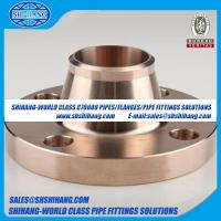 copper nickel UNS C70600 CUNI 9010 flange Solid Welding Neck Flange-EEMUA 145