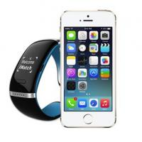 Buy cheap L12S OLED Bluetooth 3.0 Bracelet Wrist Watch Smart Watch for IOS iPhone Samsung Android Ph from wholesalers