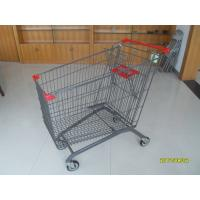 Wholesale Zinc Plating 270L Grocery Store Cart With Anti UV Plastic Parts Popular In European from china suppliers