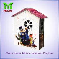 Wholesale Custom Cartoon Design Kids Toy Cardboard Play House Corrugated Paper Furniture from china suppliers
