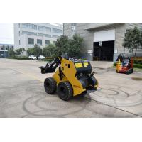 China Articulated Crawler Small Trench Digger Compact Mini Skid Steer Track Loader With Kubota Diesel Engine on sale