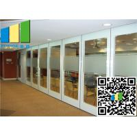 Wholesale Hall 2.56 Inch Glass Office Movable Glazed Wall For Meeting Room from china suppliers