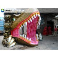 Wholesale Dinosaur House 5D Movie Theater With Outside Cabin Box , Luxury Electric 9 Seats System from china suppliers