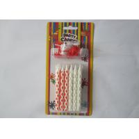 Wholesale Cute Red White Valentine'S Day Candles 3.34 Inch Height SGS Approved from china suppliers