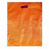 Wholesale Patch Handle Bags with Die Cut, Made of HDPE. Customized Orders are Accepted from china suppliers