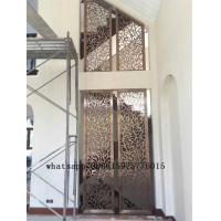 Wholesale Colored stainless steel art screen room divider partition for decorative from china suppliers