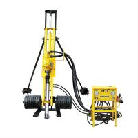 Wholesale Electric Motor Portable Pneumatic DTH Drilling Rig with 0 - 80 rpm Rotation Speed from china suppliers