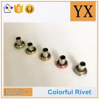 Quality Youxin hardware Flat round rivets used in apprael Trade gloden supplier for sale