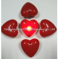 Wholesale Heart Shaped Flashing LED Badges For Festival gifts or Party Flashing Items from china suppliers
