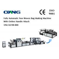 Wholesale 220v / 380v Non Woven Shopping Bag Making Machine 9 Motors High - Speed from china suppliers