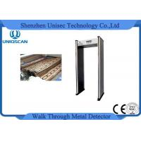 Wholesale Multiple Zones 6/12/18 Zones Wide Use Walk Through Metal Detector with Network Function from china suppliers