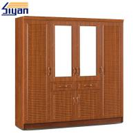 Wholesale Shutter Style Closet Doors , Louvered Shutter Doors For Dressing Room Cabinets from china suppliers