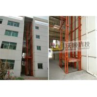 Wholesale Rail-type Hydraulic Cargo lift  guide rail lift platform 30 tons from china suppliers