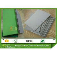 Quality Recycled Thickness 1.3mm 820gsm Rigid Grey Cardboard Sheets Hard Paperboard for sale