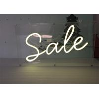 Quality Advertising Display LED Neon Signs Decorative Acrylic LED Neon Light Letters for sale