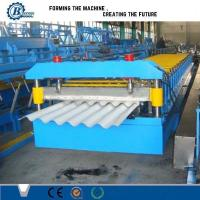 Wholesale Auto Roofing Sheet Corrugated Roll Forming Machine / Glazed Roof Panel Making Machines from china suppliers