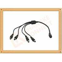 Wholesale DC12V 5.5X2.1 MmCustom Cable Assembly 1 To 4 Y Type Male To Female Easy To Clean from china suppliers