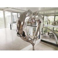 Wholesale Polished Morden Stainless Steel Art Sculptures Metal Outdoor Decoration from china suppliers