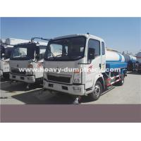 Quality Light Duty 10CBM  Water Tank Truck Sinotruk With Left Hand Driving Steering for sale