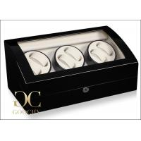 Wholesale Rotary Automatic Watch Winder , Automatic Watch Winder Suede Interiors from china suppliers