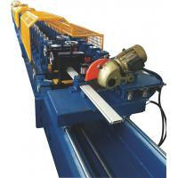 Wholesale Galvanized Steel Shutter Roll Forming Machine With PU Foam Insulated 0.3~0.5mm Thickness from china suppliers