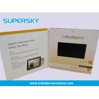 Wholesale 7 Inch LCD Video Brochure Offset CMYK Printing Video Birthday Cards from china suppliers