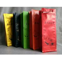 Wholesale Leakproof Aluminum Foiled Flat Bottom Zipper Storage Bags For Tea Food from china suppliers