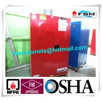 Wholesale 90 GAL Safety Fireproof Paint Storage Cabinets Dual Vents For Industrial / Chemical from china suppliers