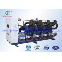 Wholesale Scroll Parallel Danfoss Compressor Unit , Refrigeration Compressor Rack from china suppliers