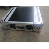 Wholesale Black Color 2 U Rack case , 2 U Flight Case With 9 MM Thickness Plywood Road Case from china suppliers