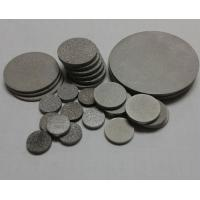 Buy cheap SS316L stainless steel powder sinter filter sheet from wholesalers