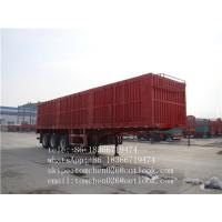 Wholesale Steel Material box van type enclosed trailer Van Body Truck for Cargo transportation from china suppliers