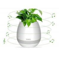 Wholesale 2017 Touching electrical gift magic playing music led flower pot smart with bluetooth pots from china suppliers