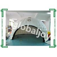 Wholesale Outdoor Inflatable Party Tent  / White Wedding Air Igloo Tent from china suppliers