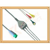 Wholesale Fukuda Denshi ECG Patient Cable 3 Leads Snap IEC Insulated from china suppliers